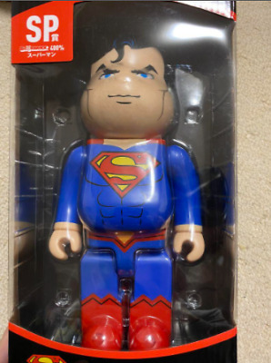 $285 • Buy Superman Bearbrick 400% Be@rbrick Medicom Toy 2020 Rare Limited Japan