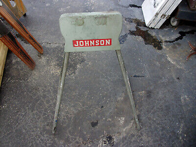 AU289.33 • Buy Vintage Johnson Outboard Motor Stand - Rare- Very Good Condition- All Original
