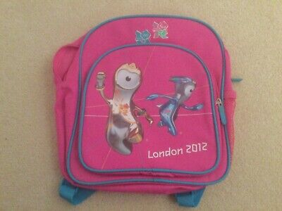 £7.95 • Buy London 2012 Offical Product - Childrens Small Rucksack - Pink - New