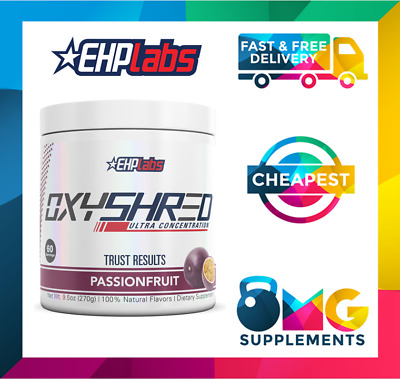 AU68.45 • Buy Oxyshred Thermogenic Fat Burner // EHP Labs // 60 Serves