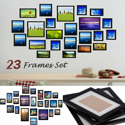 £28.99 • Buy 23PCS Multi-Picture Family Collage Photo Frame Frames Aperture Art Deco Wall Set