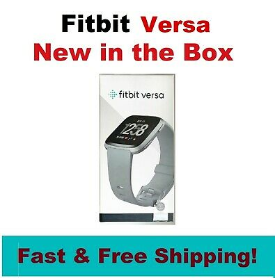 $ CDN132.46 • Buy NEW Fitbit Versa Smart Watch Fitness Activity Tracker FB504RGPK, Gray Silver
