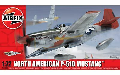 Airfix A01004 North American P-51D Mustang Plastic Kit • 9.50£