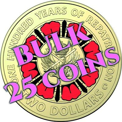 AU70 • Buy 2019 $2 Dollar - 25 Coins - 100 Years Of Repatriation  - Uncirculated 2 Coin