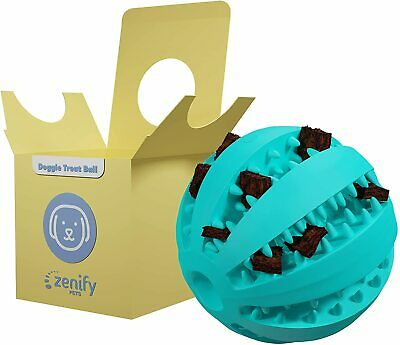 AU12.30 • Buy  Zenify Puppy Toys Dog Toy Food Treat Interactive Puzzle Ball For Tooth Teething