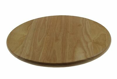 Apollo 35cm Wooden Lazy Susan Rotating Round Serving Plate Table Serving Tray • 10.95£