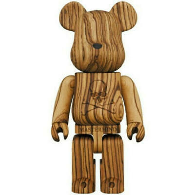 $8490 • Buy BE@RBRICK  Karimoku Mastermind Zebra Wood 400% MEDICOM TOY Brown Japan Bearbrick