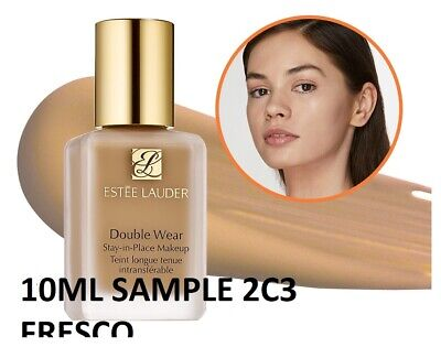 £7.25 • Buy Estee Lauder Double Wear Stay In Place Foundation 2C3 FRESCO Sample  ONLY 10ml