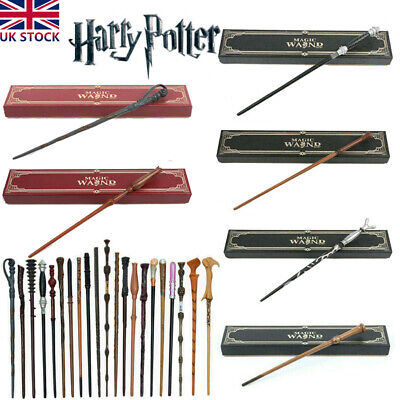 £12.99 • Buy Harry Potter Hermione Magic Wand Draco Malfoy Voldemort Metal Core Wand Boxed UK