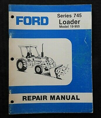 AU31.28 • Buy Ford Model 340b 540b Tractor  Series 745 Front End Loader  Operators Manual