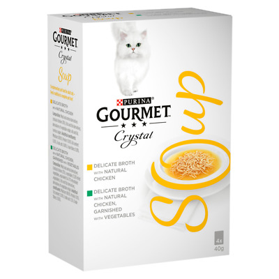 Gourmet Soup Poultry Cat Food Variety Multipack - 4 X 40g • 3.17£