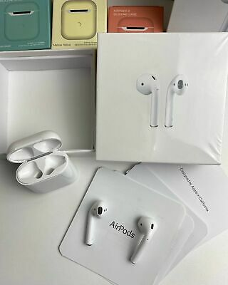 $ CDN133.97 • Buy Apple Airpods 2nd Generation With Wireless Charging Case White Sealed New + Gift