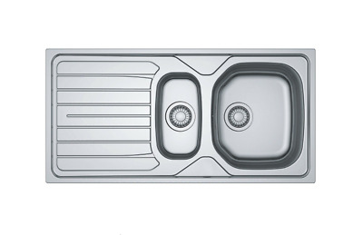 Franke Reno / Danube Stainless Steel Inset Sink Kitchen Utility Room Cheapest • 79.99£