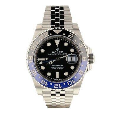$ CDN21530.31 • Buy Rolex GMT Master II Batman 40mm Jubilee Blue Watch 126710 BLNR 2020 All Stickers