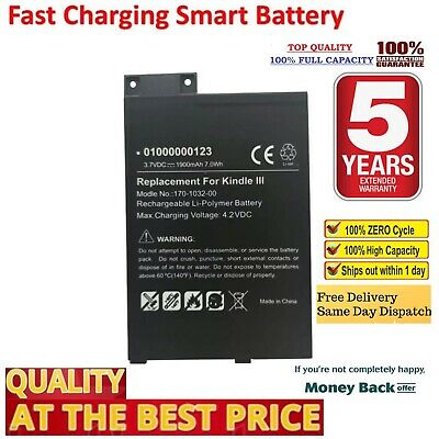 AU24.98 • Buy S11GTSF01A GP-S10-346392-0100 Battery For Amazon Kindle 3 III D00901 EReader