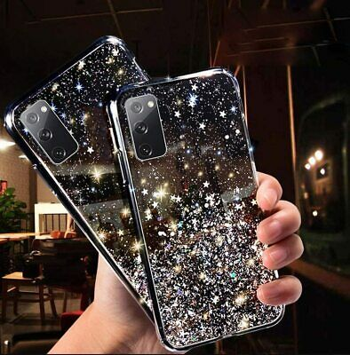 £2.95 • Buy GLITTER Case For Samsung Galaxy A12 A72 S9 S10 S20 S21 PLUS Shockproof Cover