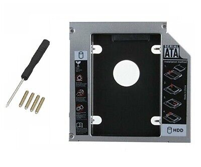 £4.72 • Buy New CD-ROM Tray Bay Caddy 12.7MM For 2nd SATA III 2.5  HDD/SSD Hard Disk Drive