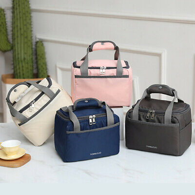 AU18.97 • Buy Thermal Insulated Lunch Bag Cool Bag Picnic Adult Kids Food Storage Lunch Box