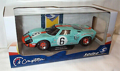 Ford GT40 24 Hour Le Mans 1969 Gulf 6 Solido 1-18 Scale Diecast Model New In Box • 45.75£