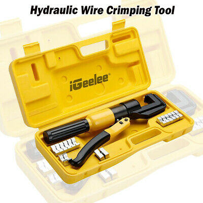 $ CDN116.71 • Buy Hydraulic Wire Crimping Tool Cable Plier (Z)YQK-70 Range 4-70MM2 Pressure 5-6T