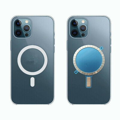 2Pcs Mag Safe Case Magnet Sticker Wireless Charging Magnetic For IPhone 12 Pro • 8.55£