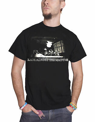 Rage Against The Machine T Shirt Live Jump Band Logo Official Mens New Black S • 13.95£