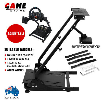 AU123.99 • Buy Logitech G29/G27 Racing Wheel Shifter Adjustable Game Stand PRO Game Support AU