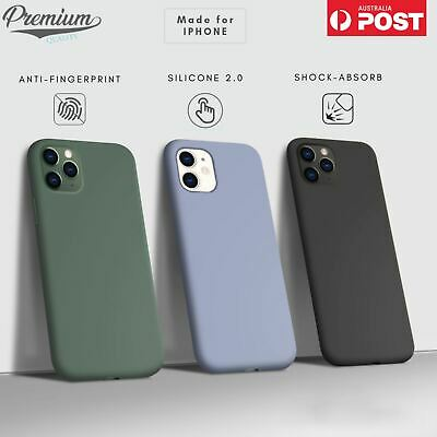 AU9.90 • Buy For Apple IPhone 12 Pro Max Mini / 11 SE XS XR Case Shockproof Silicone Cover