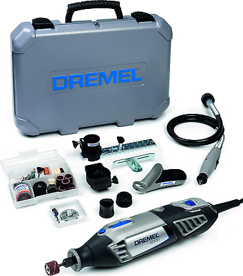 Dremel 4000 Rotary Tool 175 W, Rotary Multi Tool Kit With 4 Attachment 65 PCs • 120.38£
