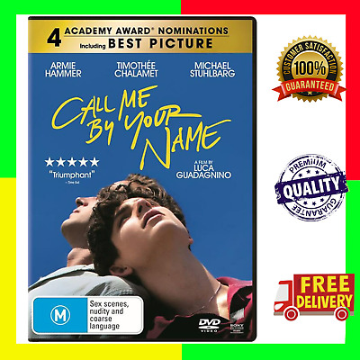 AU10.25 • Buy NEW Call Me By Your Name (DVD) Region 4 - Australia *SEALED*