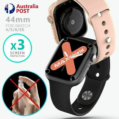 AU2.99 • Buy 3x For Apple Watch 6 5 4 Apple Watch SE 44mm IWatch HYDROGEL Screen Protector
