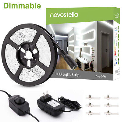 $21.99 • Buy 40ft LED Strip Lights Room 20ft Lighting Tunable Light Warm Cold Dimmable White
