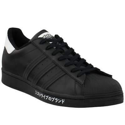 $ CDN69.93 • Buy Adidas Superstar Lace Up  Mens  Sneakers Shoes Casual   - Black - Size 5 D