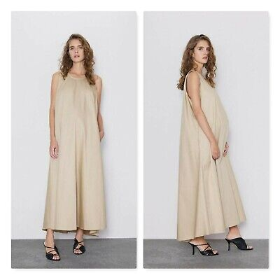 AU65 • Buy ZARA Womens Size XS Or AU 8 / US 4 Midi / Maternity Dress