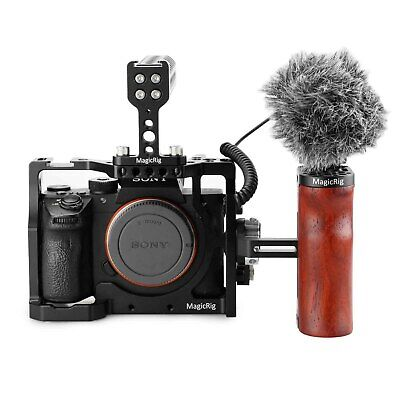 $ CDN151.28 • Buy MAGICRIG Cage Kit For Sony A7RIII /A7III With Double Handle & HDMI Cable Clamp