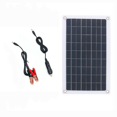 AU31.34 • Buy 7.5W 18v Semi Flexible Solar Panel DC For Car Led Light 12v Battery Boat Charger