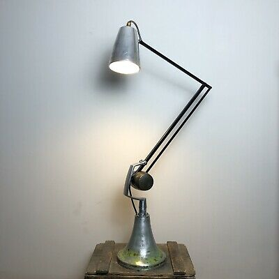 Industrial Hadrill & Horstmann Counterbalance Anglepoise Lamp- Fully Restored • 295£