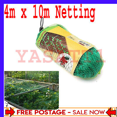 £9.79 • Buy 4m X 10m Garden Bean And Pea Netting Fruit Tree Butterfly Strawberry Netting X 1