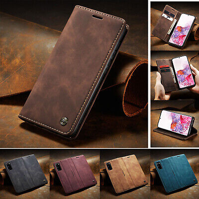 AU12.39 • Buy For Samsung S20 FE 5G S20 Ultra S8 S9 S10 Note 10 Plus Leather Wallet Case Cover