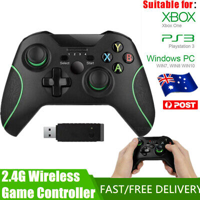 AU39.99 • Buy Wired/Wireless Game Controller Gamepad Joystick For Microsoft Xbox One PC AU!