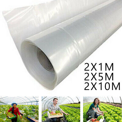 £27.19 • Buy Greenhouse Film 2Mx1-25m Clear Plastic Covering Domestic Commercial High Quality
