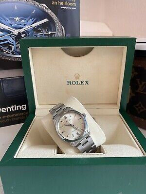 Rolex Oyster Perpetual Date Ref 1500 Automatic Unisex 34mm With Silver Dial • 2,400£