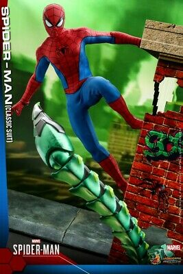 $ CDN473.39 • Buy Hot Toys VGM48 1/6 Spiderman Peter Parker Tobey Maguire 12'' Action Figure Model