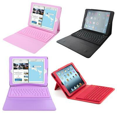 Cover-Wireless-Leather-Case-For-Apple-iPad-Air-2-Bluetooth-Keyboard-F • 14.63£