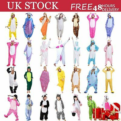 Ladies Mens Unicorn Pyjamas Unisex Animal Xmas Onesie17 Cosplay Costume Pajamas • 15.39£