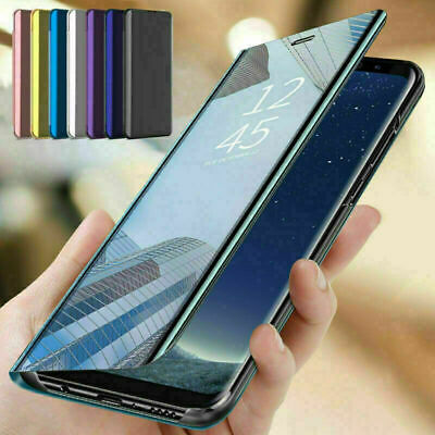 AU8.16 • Buy For Sony Xperia 5 II 10 11 XZ3 Smart Clear Mirror Leather Flip Stand Case Cover