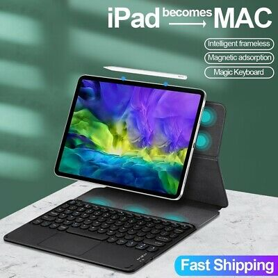AU49.95 • Buy Bluetooth Keyboard Leather Smart Case For IPad Pro 11  12.9  2020/2018 7 Air Pro