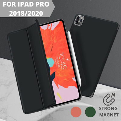 AU21.95 • Buy Magnetic Case IPad Pro 11  And 12.9  2020 Slim Smart Cover Leather Stand Case