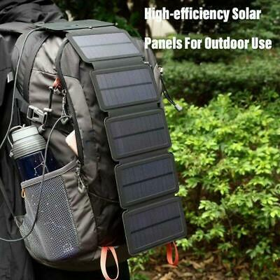 £16.70 • Buy Outdoor Emergency Survival Equipment Accessories Foldable Solar Charger