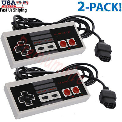 $ CDN13.28 • Buy 2 Pack Controller For NES-004 Original Nintendo NES Vintage Console Wired Gamepd